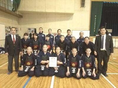 剣道部10月・11月の活動