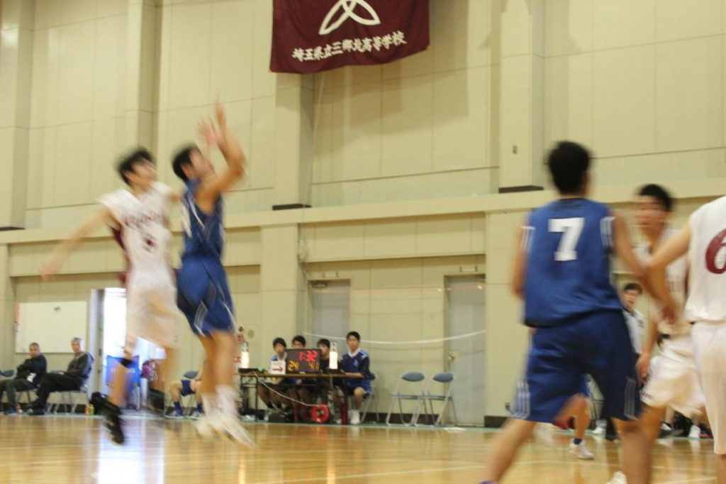 埼玉県男子バスケットボール新人大会に向けて