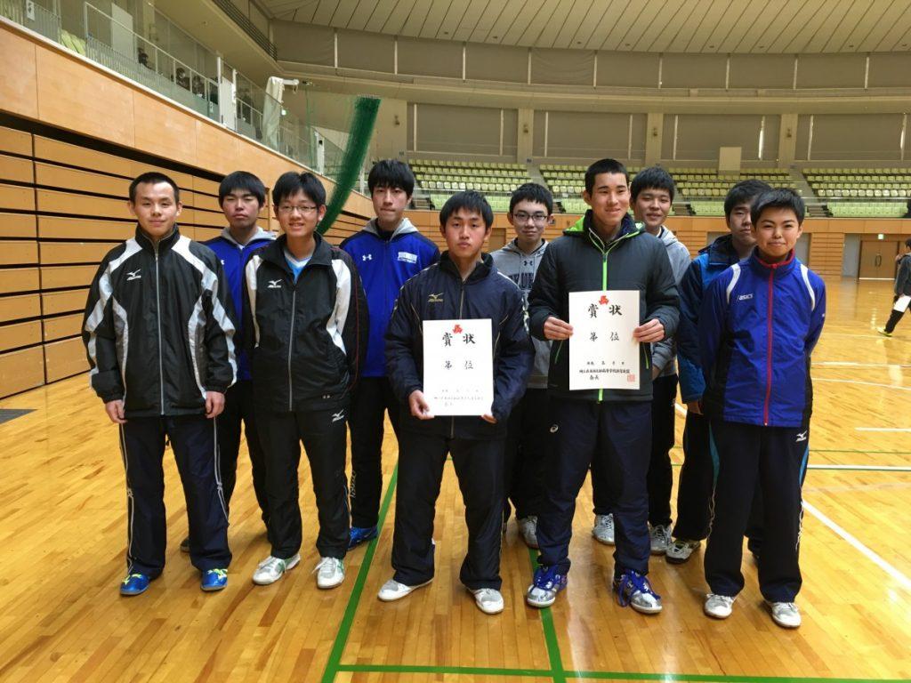 東部地区新人卓球大会 試合結果