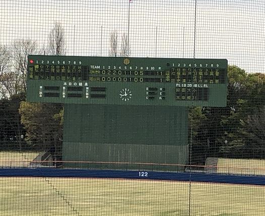 春季高校野球東部地区大会代表決定戦