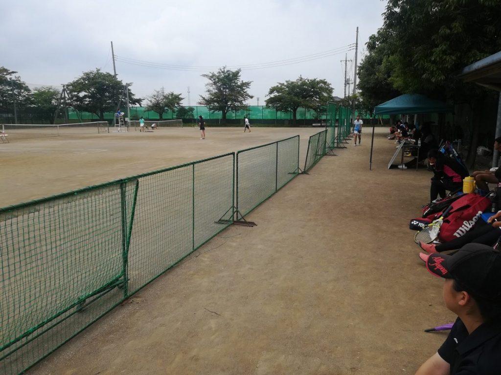 令和元年度 高校テニス新人大会東部地区予選会 個人戦