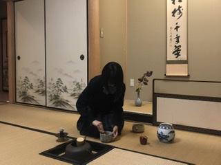 茶道部 日々の活動をご紹介します(11月)