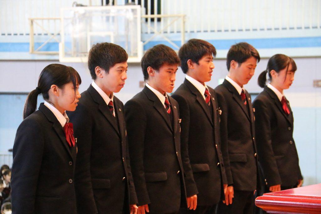 【陸上競技部】全校朝礼で表彰・U18日本選手権&関東選抜
