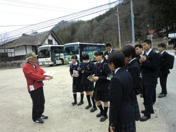 普通科第1学年第2班がオリエンテーション合宿を実施しました。