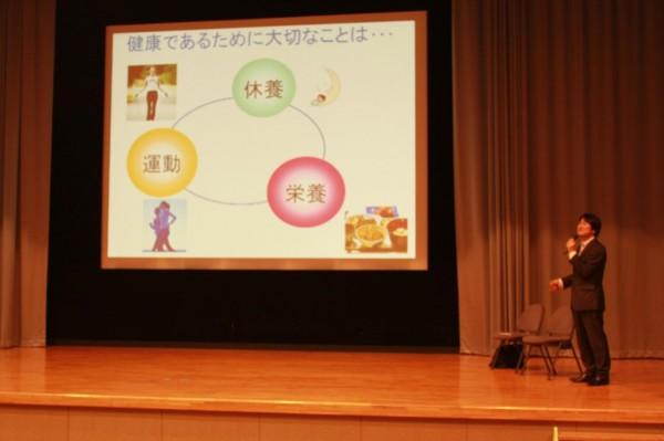 平成27年度 第1回 スーパー食育スクール講演会実施