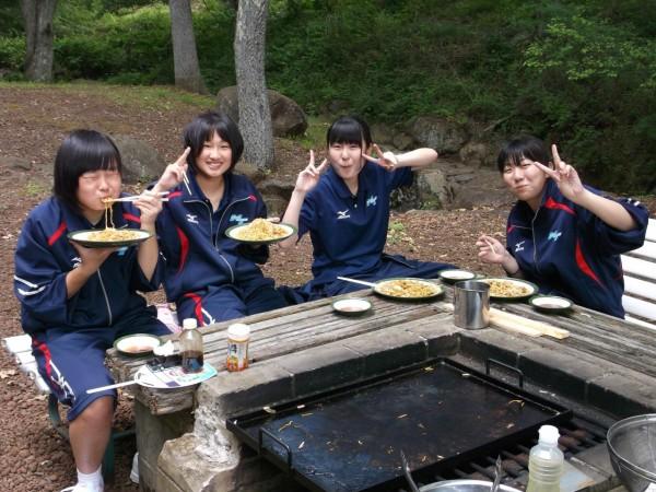 食育実践科 1年生 宿泊研修を実施しました。