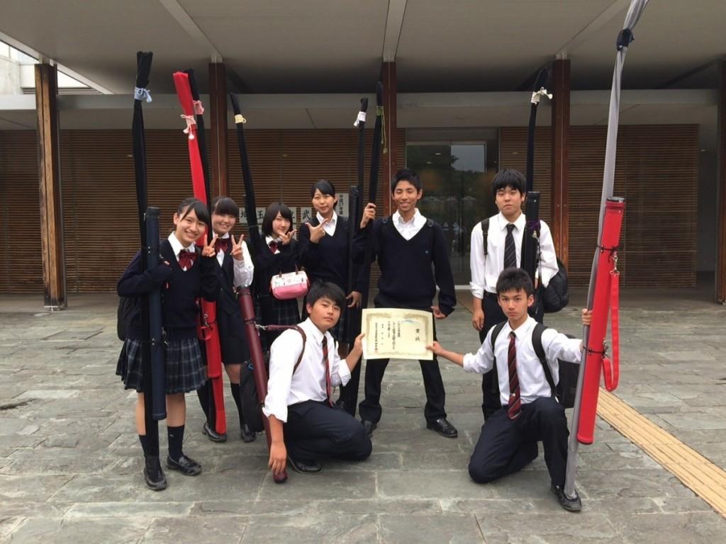 弓道部 平成27年度 第19回埼玉県高等学校遠的選手権大会