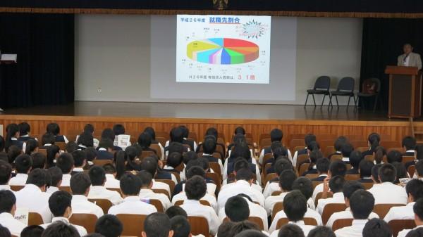 普通科3学年対象 佐藤栄学園系列校説明会を実施
