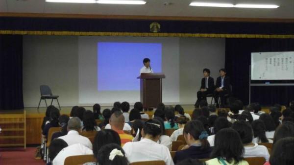 第2学年修学旅行説明会を実施しました。