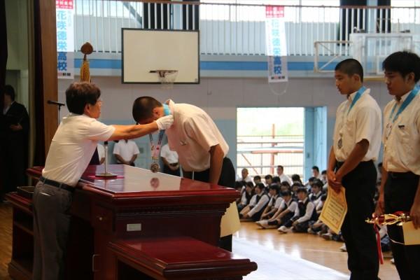第2学期始業式が行われました。