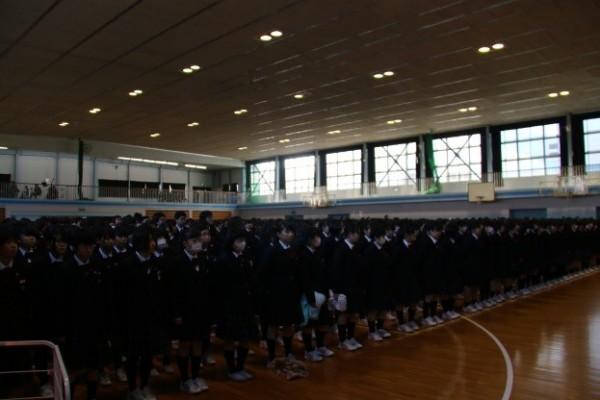 平成27年度 第3学期始業式