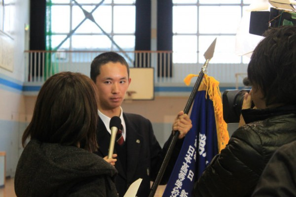 第88回選抜高校野球大会 選抜旗授与式
