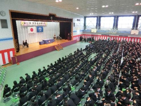 平成27年度卒業生対象 同窓会入会式を実施
