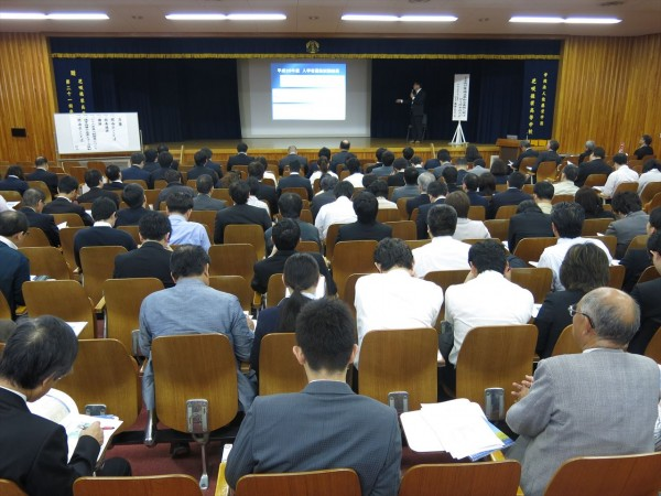 塾長対象 平成28年度入試結果報告会