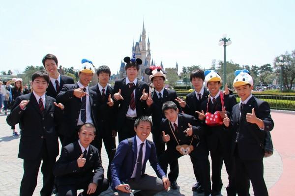 普通科2年遠足 東京ディズニーランドへ