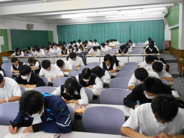 3年校外模試 ~河合塾全統マーク模試実施~