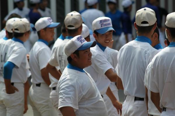 野球部 甲子園へ向け出発!