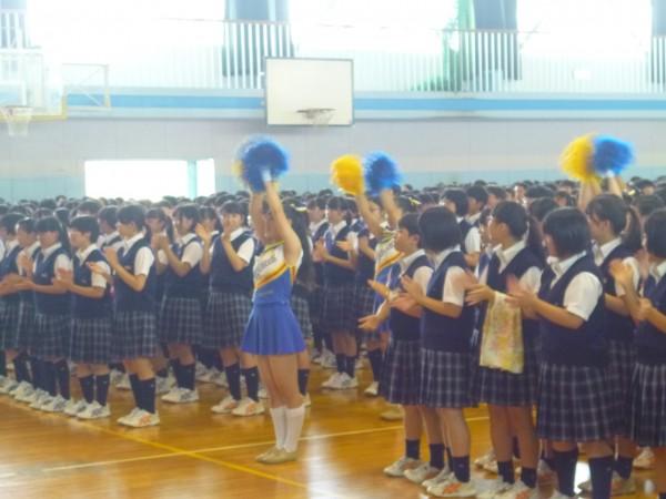 全国高校野球選手権大会出場壮行会が行われました。