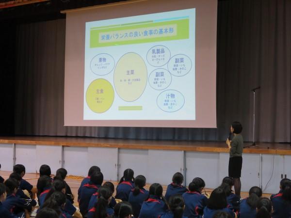 第1学年対象 食育指導