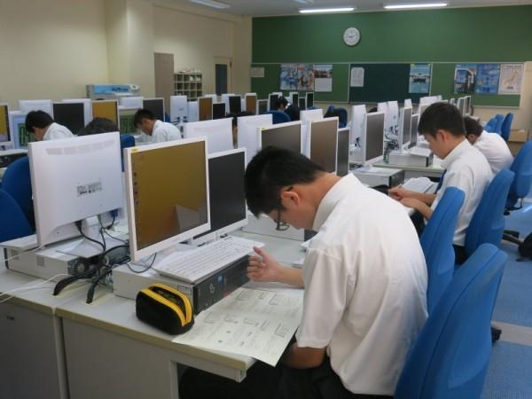 全商情報処理検定1級に4名合格!