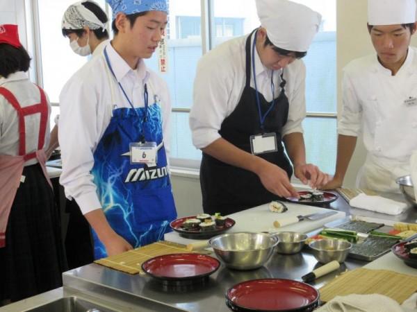 第6回食育実践科体験学習を実施しました。