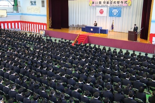 平成28年度卒業生対象 同窓会入会式実施