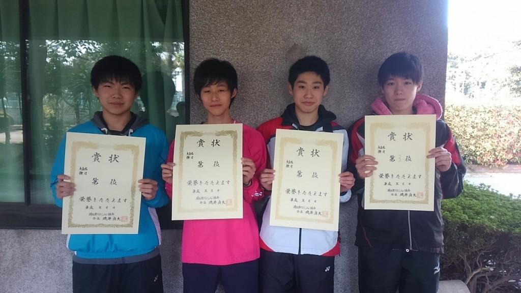 埼玉県会長杯争奪高校バドミントンダブルス大会結果