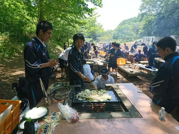 宿泊研修 食育実践科1年 ~2日目~