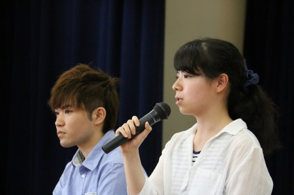 卒業生進学講話