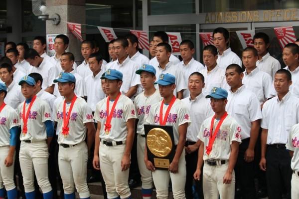 第99回全国高校野球選手権埼玉大会 優勝報告会