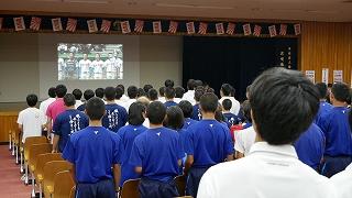 甲子園 1回戦勝利!