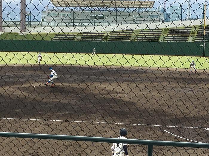 秋季高校野球県大会2回戦勝利、ベスト16へ進出