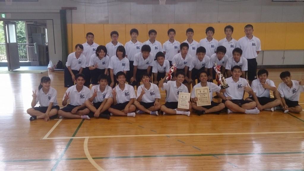 男子バスケットボール部 平成29年度 夏季東部支部選手権大会の結果
