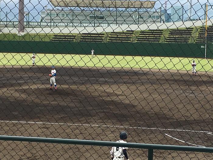 秋季高校野球県大会3回戦勝利、準々決勝進出