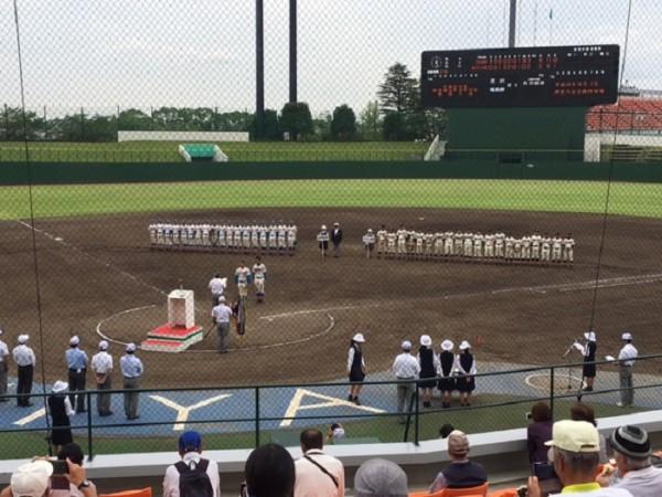 秋季高校野球4年ぶり5回目の優勝 秋季関東大会で中央学院高校と対戦