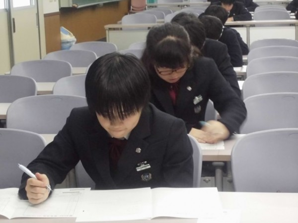 「第314回実用数学技能検定」を実施しました。