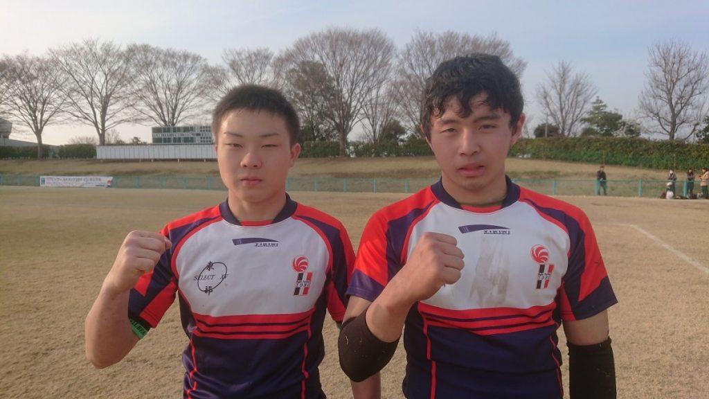 H29年度 埼玉県高校ラグビー四地区対抗戦 選抜選手の活躍