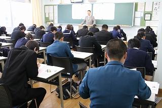 平成30年度 学級編制試験及び入学説明会実施