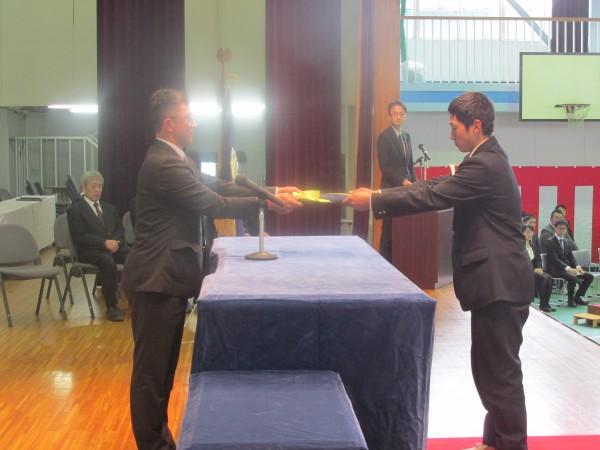 平成29年度卒業生対象 同窓会入会式実施