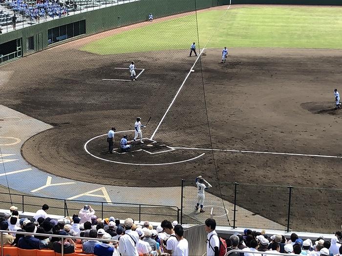 春季高校野球埼玉県大会準々決勝勝利、3年連続4強入り