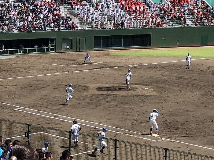 春季高校野球埼玉県大会準優勝、関東大会へ