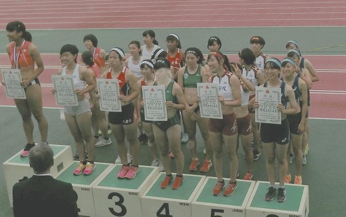 女子400mリレーでインターハイ出場権獲得!!!