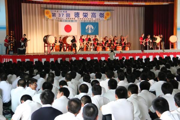 第37回 徳栄高祭が開催されました①