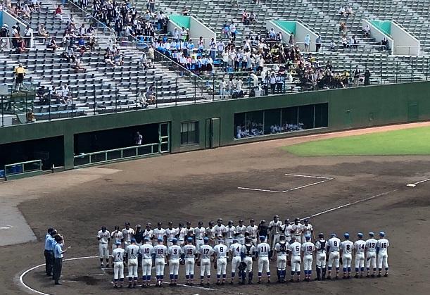 高校野球北埼玉大会3回戦、5回コールド勝ち