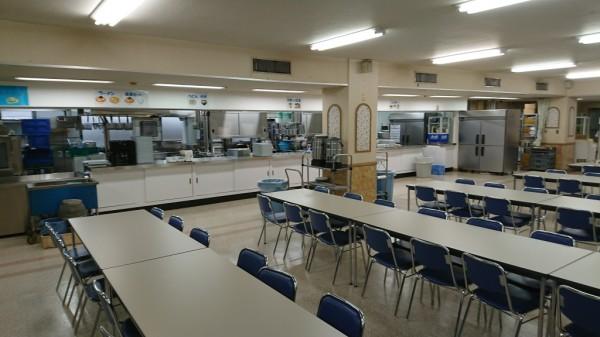食堂リニューアルオープン
