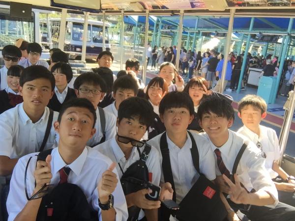 アメリカ修学旅行第3班報告4