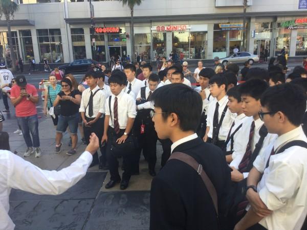 アメリカ修学旅行第3班報告3