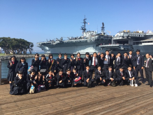アメリカ修学旅行第3班報告2