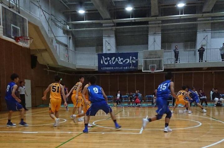八王子高校文化祭招待試合に行ってきました。