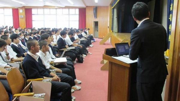 第1学年類型選択説明会を実施しました。